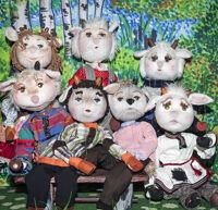 Семеро козлят детский спектакль