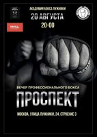 Проспект боксерское шоу