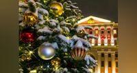 Огни новогодней Москвы 31.12/17:45 автобусная экскурсия