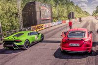 Фестиваль суперкаров «Московская Миля 2019»