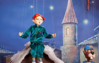 Приключение Никиты и Ушастика детский спектакль