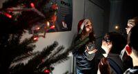 Научный Новый год Умной Москвы новогодняя елка