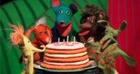 Именинный пирог. Петсон и Финдус детский спектакль