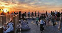 Открытая смотровая площадка в Москва-сити «Выше только любовь»! экскурсия
