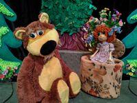 Маша и Медведь детский спектакль