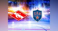 ХК Спартак - ХК СКА хоккейный матч