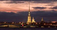 Ночной Петербург с теплоходной прогулкой (6 часов) экскурсия