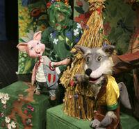 Три веселых поросенка или как подружиться с Волком детский спектакль