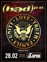 Hed P.E. концерт группы