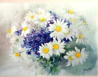 Цветочные этюды мастер класс