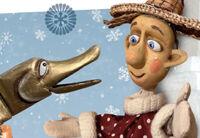 У Емели на печи новогодняя елка