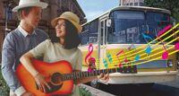 Поющий автобус. Самые любовные песни автобусная экскурсия