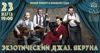 Экзотический джаз. Якруна концерт