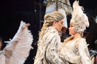 Сказ о серебряных крыльях спектакль