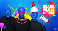Blue Man Group шоу