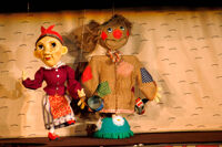 Сказка про Репку детский спектакль