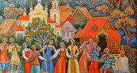 Лики любви русской деревни спектакль