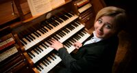 В ансамбле с органом концерт