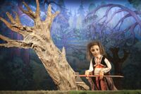 Заколдованный лес детский спектакль