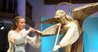 Каменный ангел спектакль