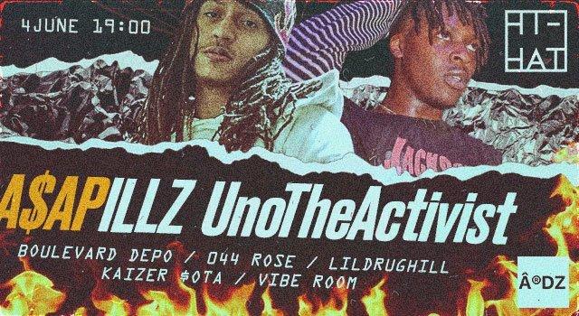 UnoTheActivist x A$AP Illz x Boulevard Depo