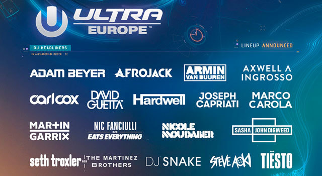 Ultra Europe Festival 2017